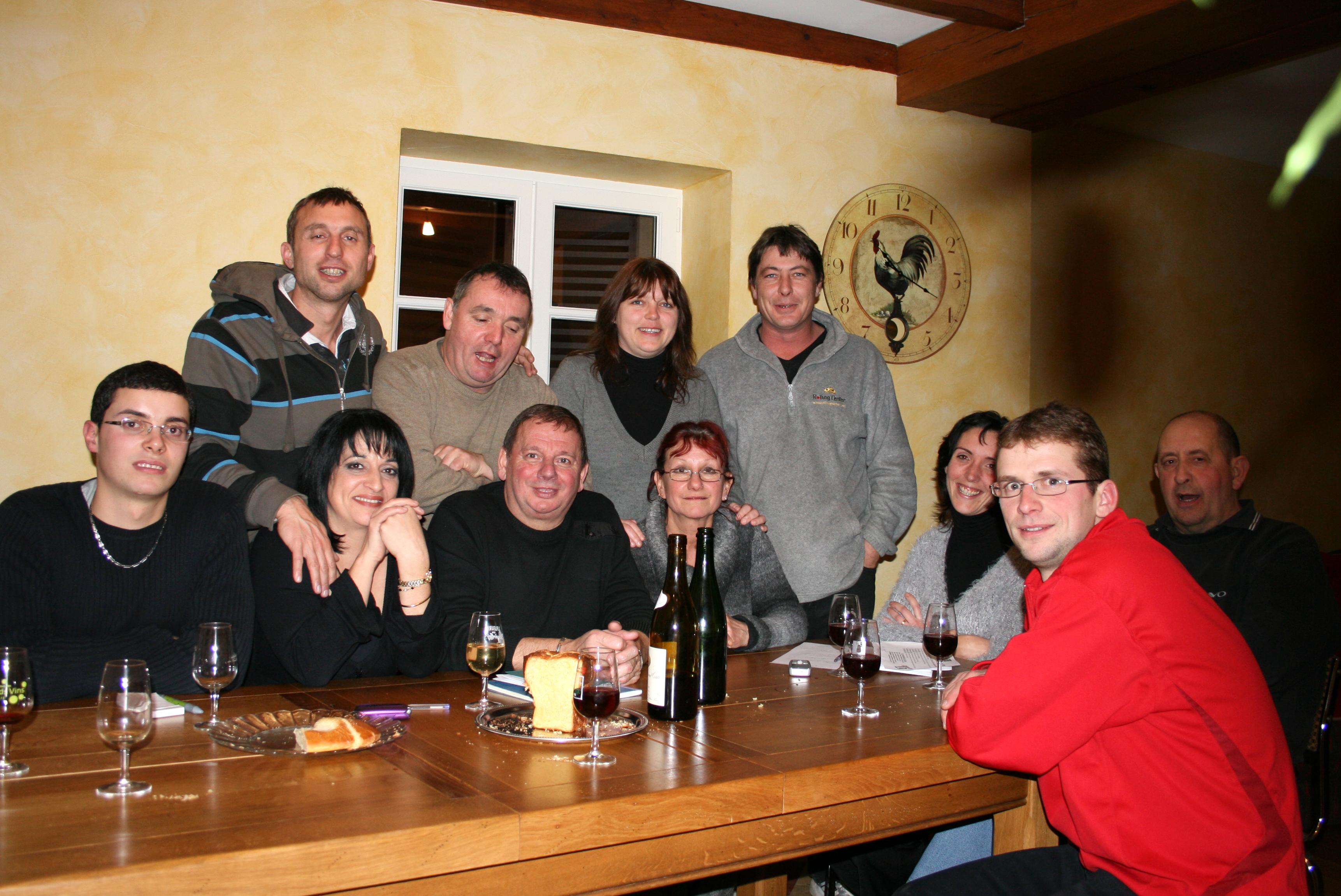Reunion du  22 Janvier 2009